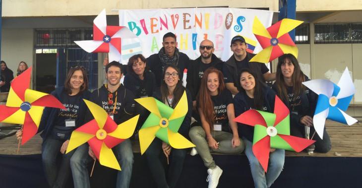 ¡Bienvenidos a Chile, Voluntarios!