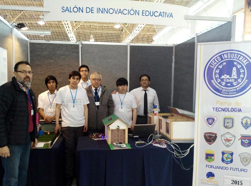 Proyecto Casa Domótica / Liceo Industrial Armando Quesada Acharán.