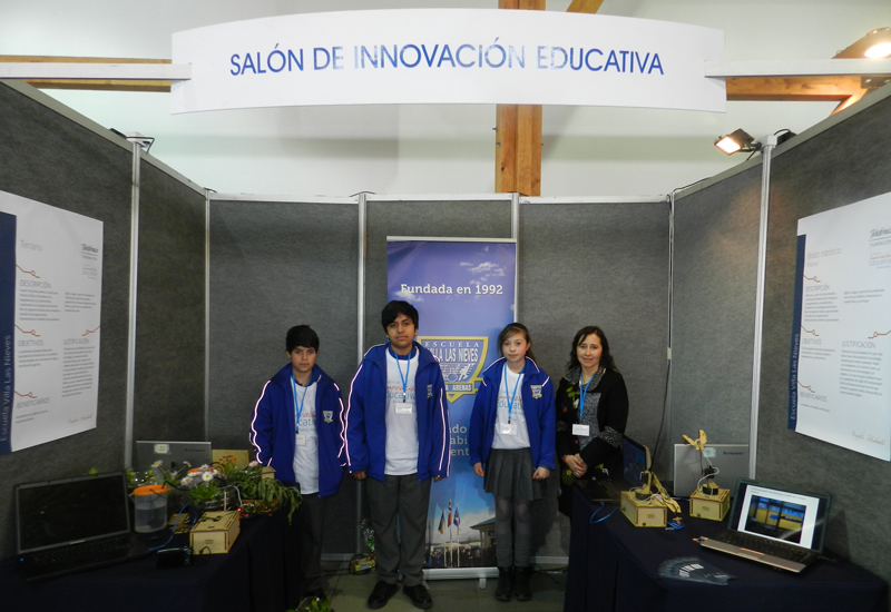 Terrario / Escuela Villa Las Nieves.