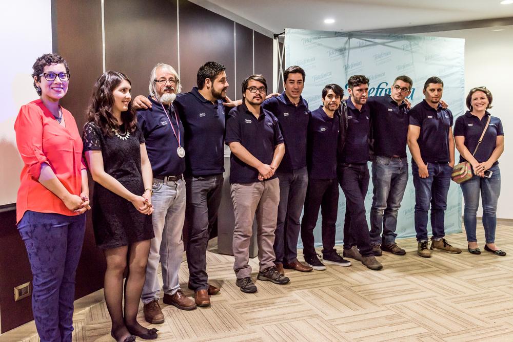 Equipo de tutores de Fundación Telefónica.