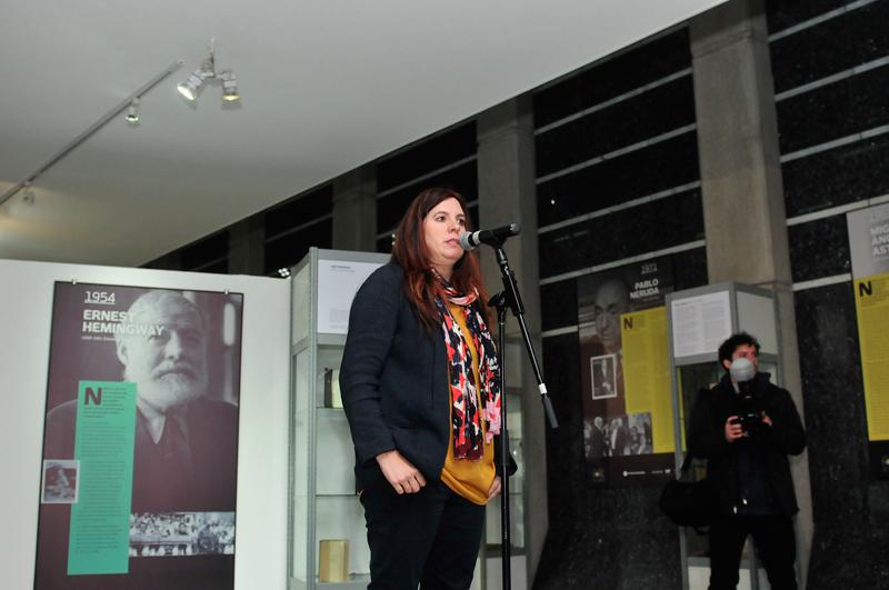 Judit Arteaga, curadora de la exposición.