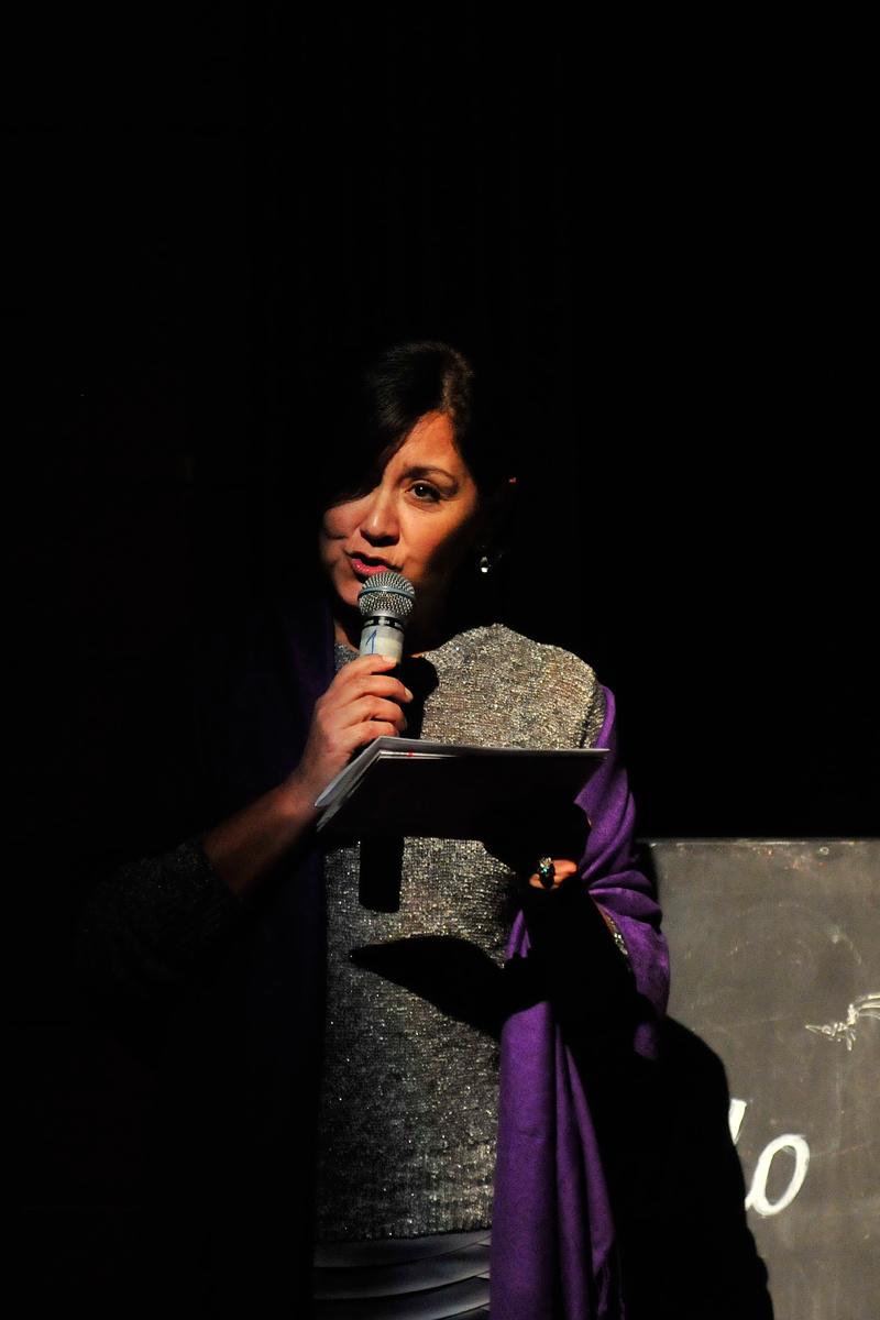 Angélica Alarcón, gerenta de Fundación Telefónica.