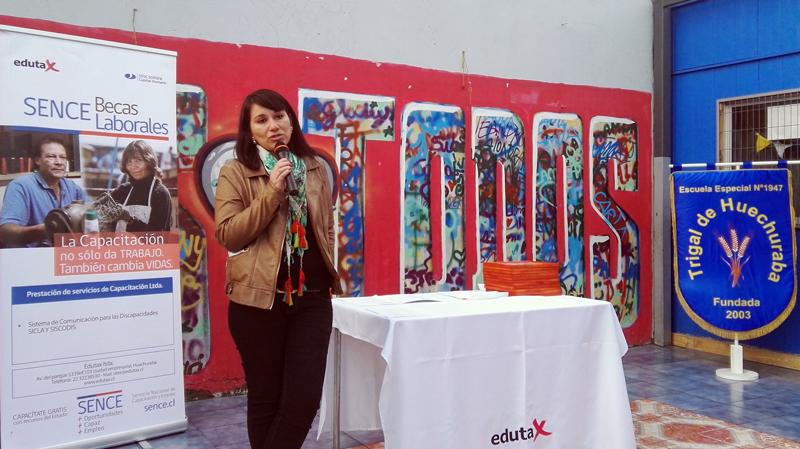 Paula Pérez, directora de la Escuela Especial Trigal de Huechuraba.