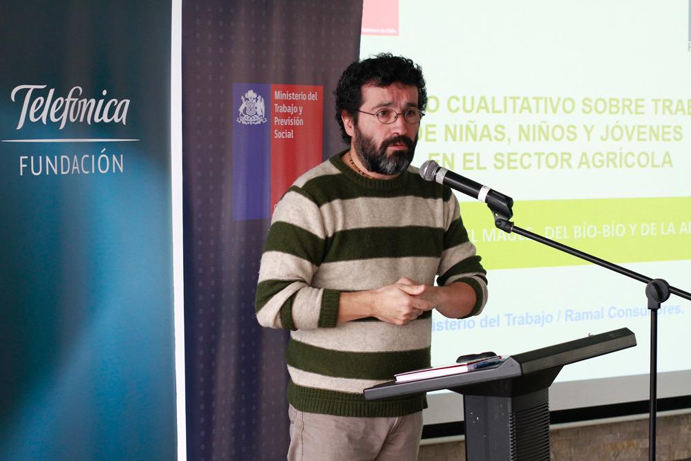 Claudio Duarte, jefe de proyecto de Ramal