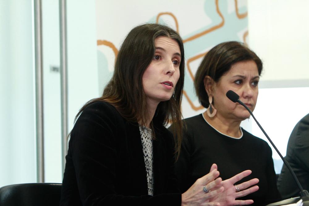 Patricia Roa, oficial de programación de la Organización Internacional del Trabajo (OIT) en Chile