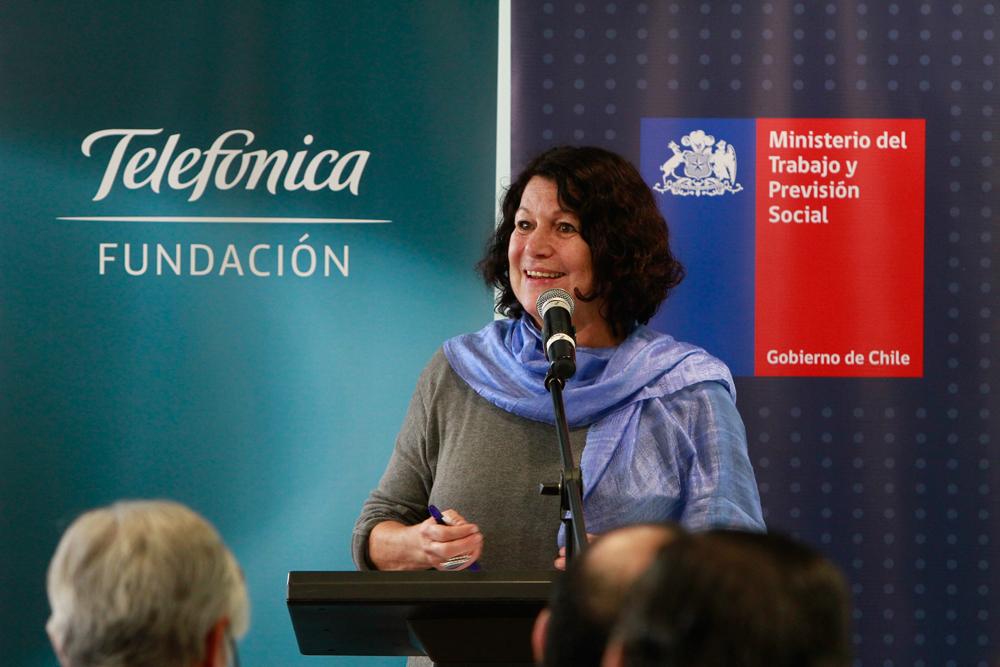 Estela Ortiz, secretaria ejecutiva del Consejo Nacional de la Infancia