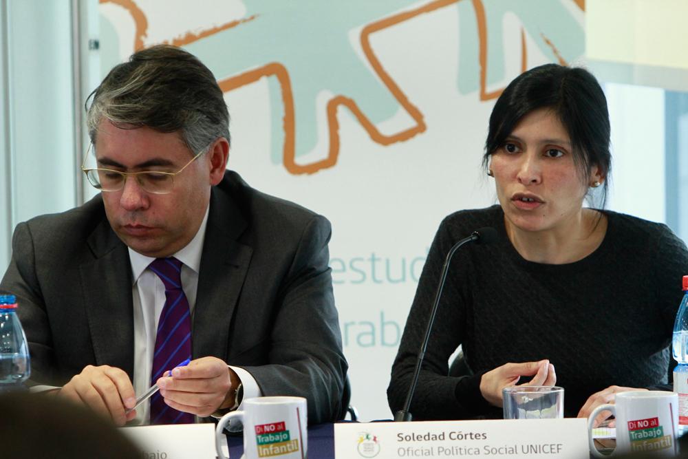 Soledad Cortés, oficial de política social de Unicef en Chile