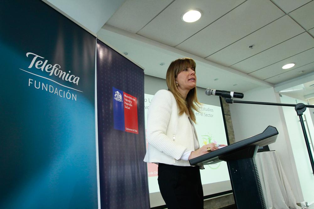 Ximena Rincón, ministra del Trabajo.