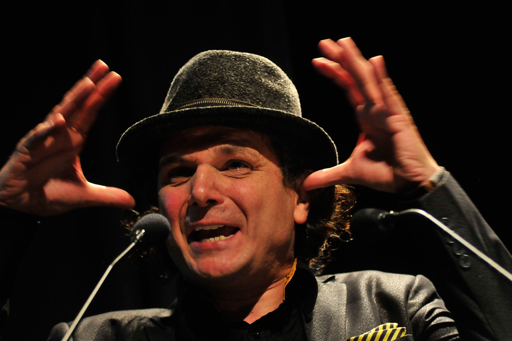 Jorge Said, periodista y realizador de la serie.