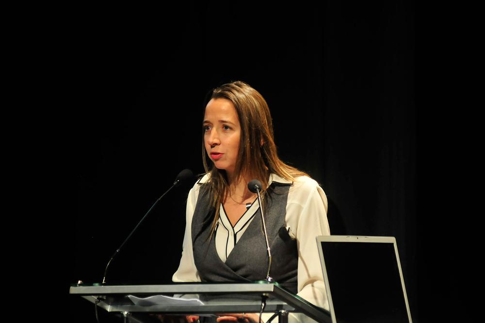 Consuelo Silva, productora ejecutiva de la serie por parte de Chilevisión.