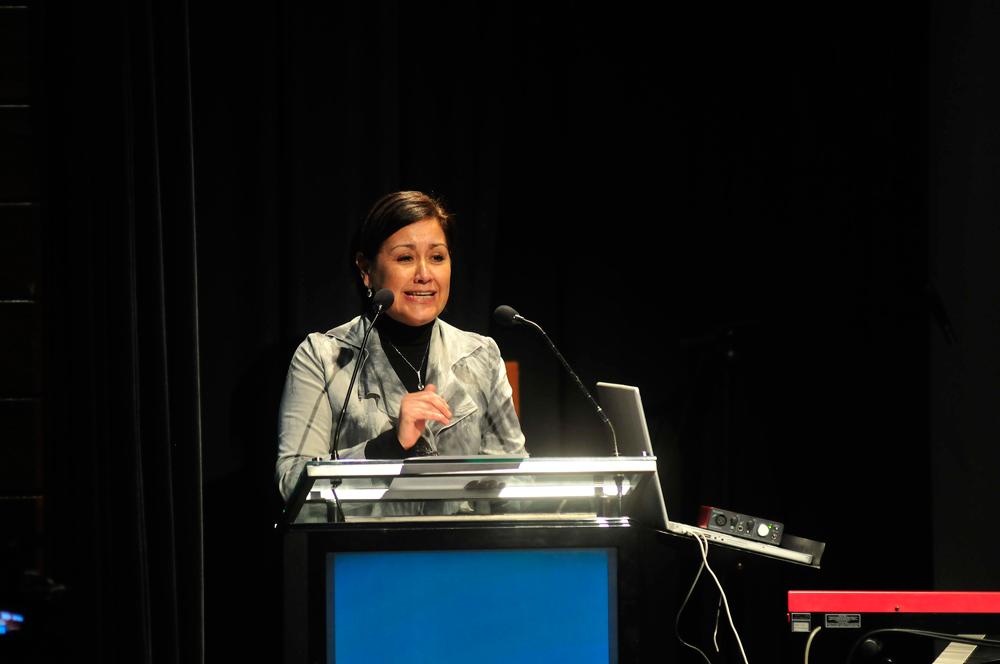 Angélica Alarcón, gerenta de Fundación Telefónica
