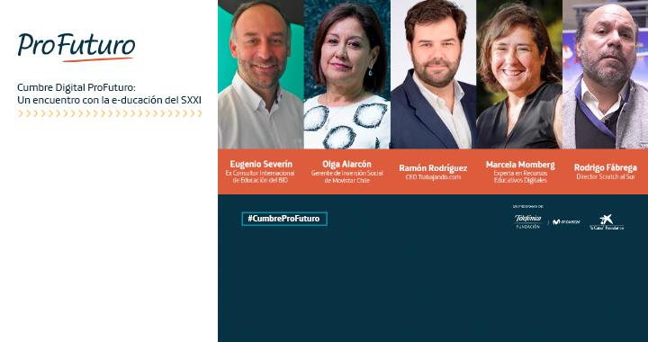 Cumbre Digital ProFuturo: Un encuentro con la e-ducación del SXXI