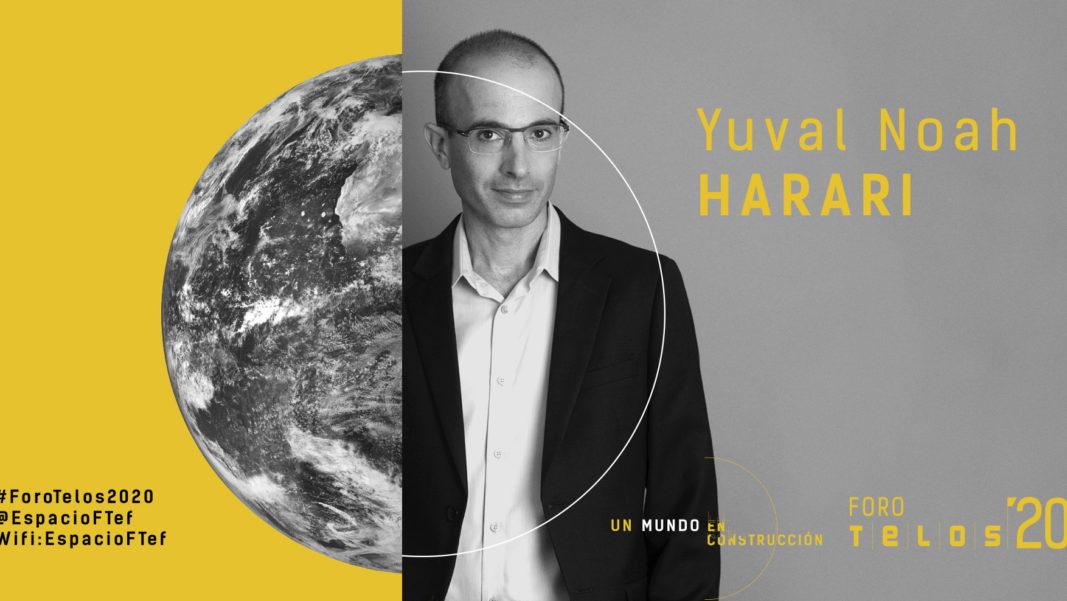 #ForoTelos2020: Encuentro online con Yuval Noah Harari