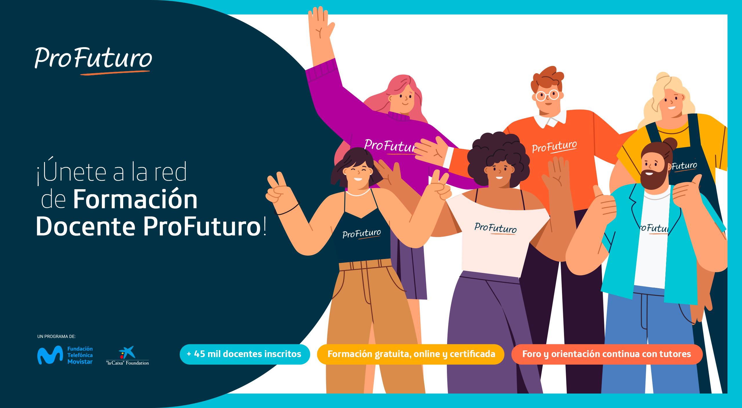 Formación docente ProFuturo | Fundación Telefónica | Chile