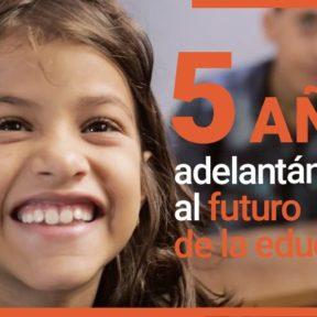 """Fundación Telefónica Movistar y Fundación """"la Caixa"""" llevan educación digital a 19,7 millones de niños de 40 países en cinco años"""
