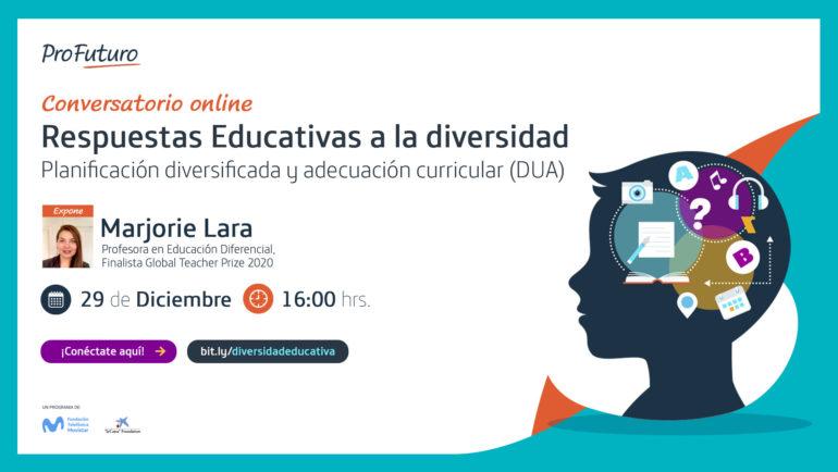 Webinar: Respuestas educativas a la diversidad