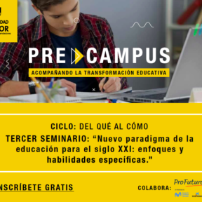 PreCampus de la Universidad Mayor te invita a reflexionar sobre cómo enfrentarán las escuelas el nuevo paradigma educativo